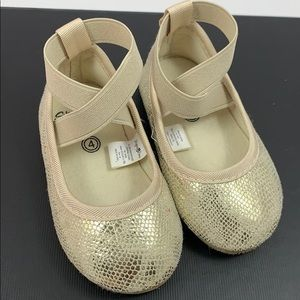 Other - Gold ballerina style shoe